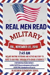 Real Men Read: Military