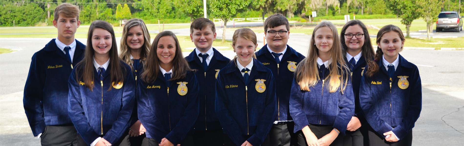FFA Officers 2018-2019