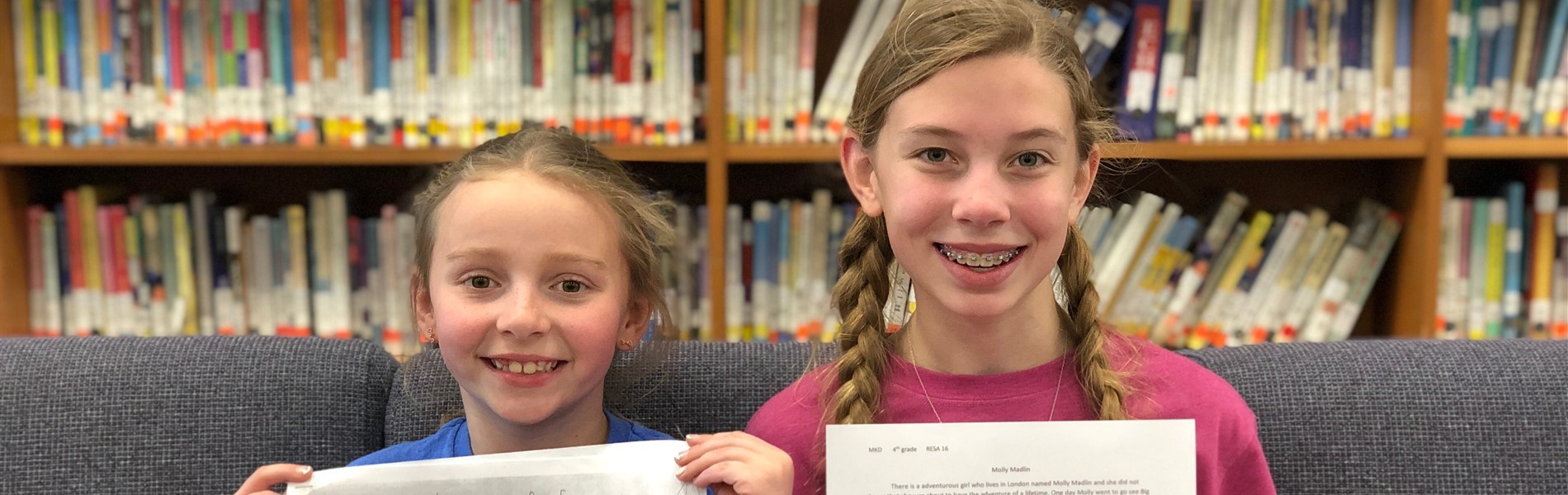 District Young  Author Winners